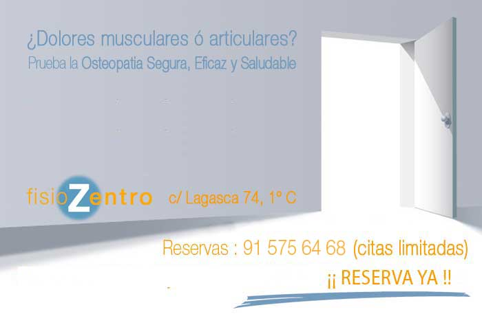 Clinica Osteopatia Madrid Centro
